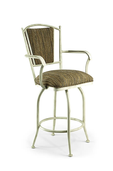 Buy Wesley Allen S Durham Swivel Counter Stool With Back
