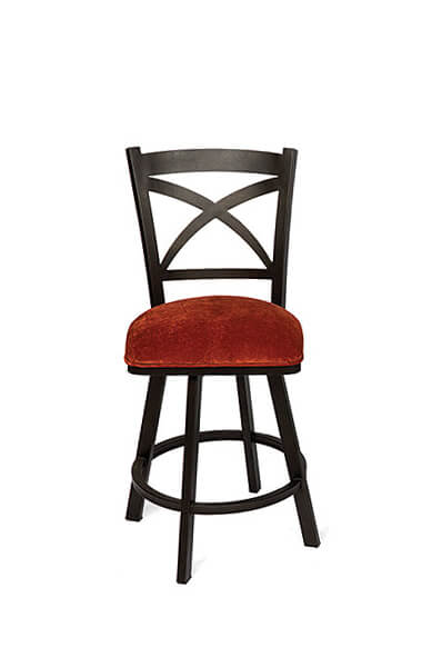 Fantastic Edmonton Swivel Stool With Back Alphanode Cool Chair Designs And Ideas Alphanodeonline