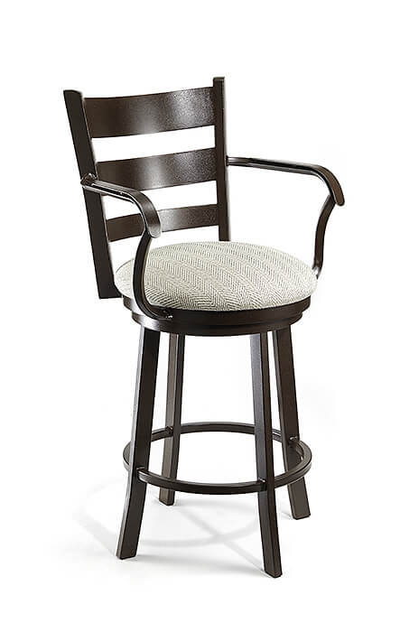 Buy Wesley Allen S Hayward Swivel Stool With Ladder Back