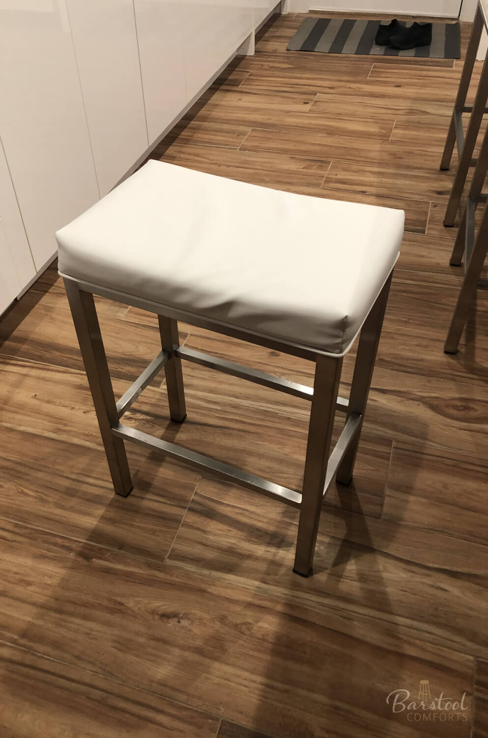 Buy Wesley Allen S Seattle Backless Modern Saddle Stool Free Shipping