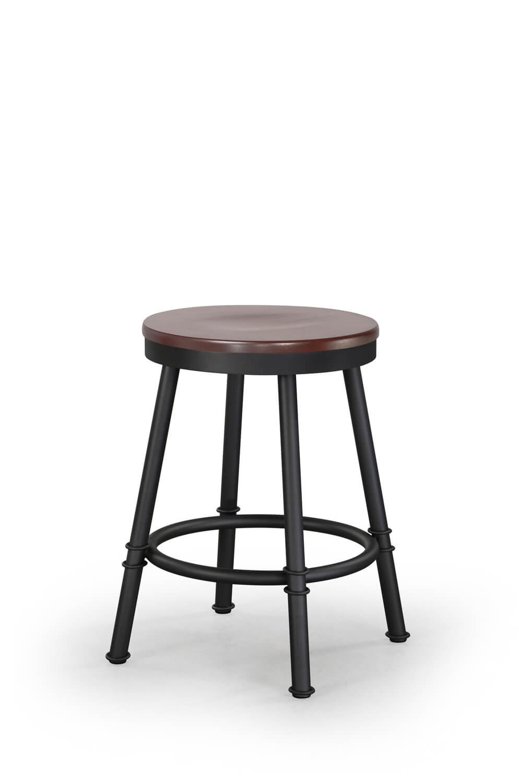 Amazing Sal Backless Swivel Stool With Wood Seat Ibusinesslaw Wood Chair Design Ideas Ibusinesslaworg