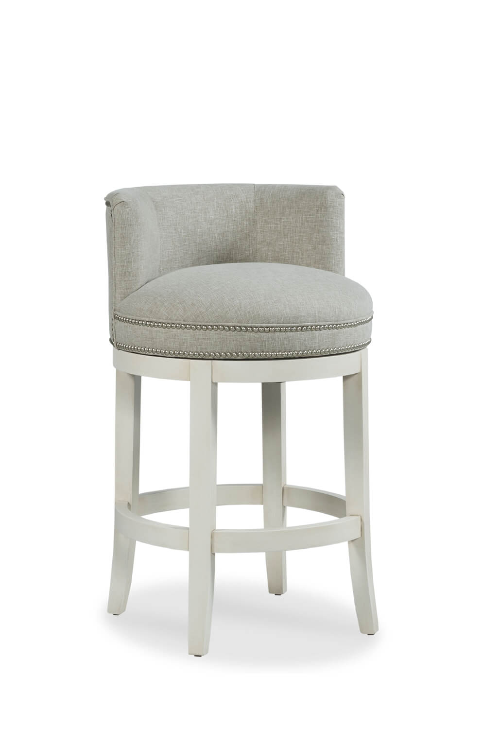 Buy Fairfield S Cosmo Upholstered Nailhead Swivel Stool