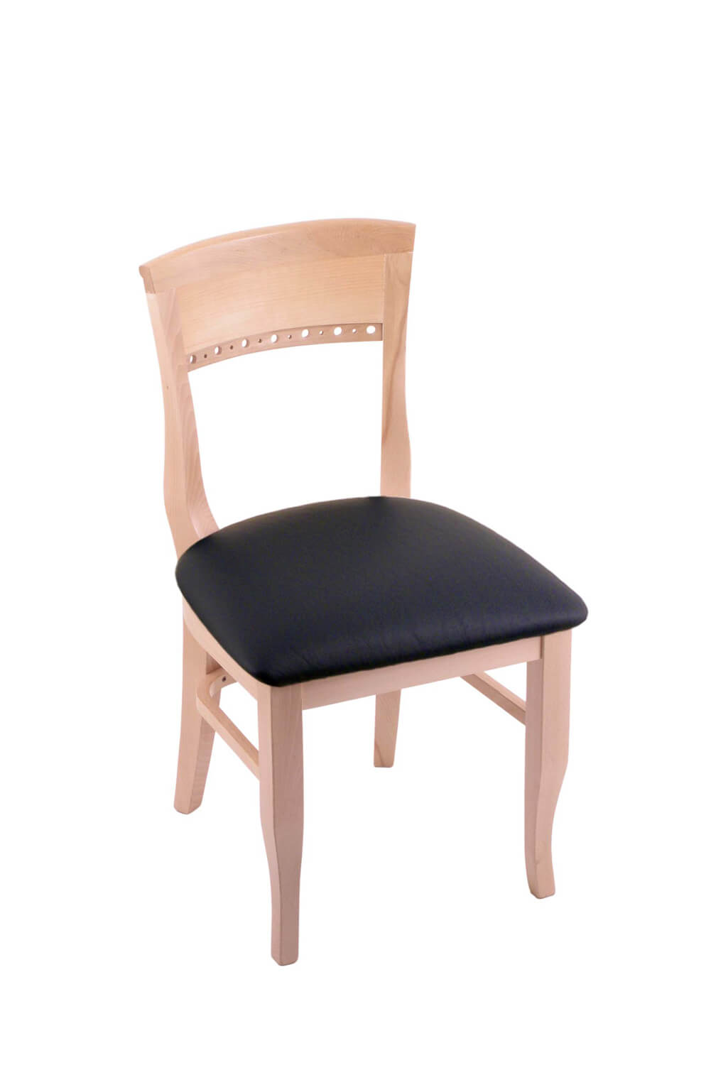 natural wood dining chairs trendy dining hollands 3160 hampton series wooden dining chair with back natural and black vinyl buy wood multiple colors