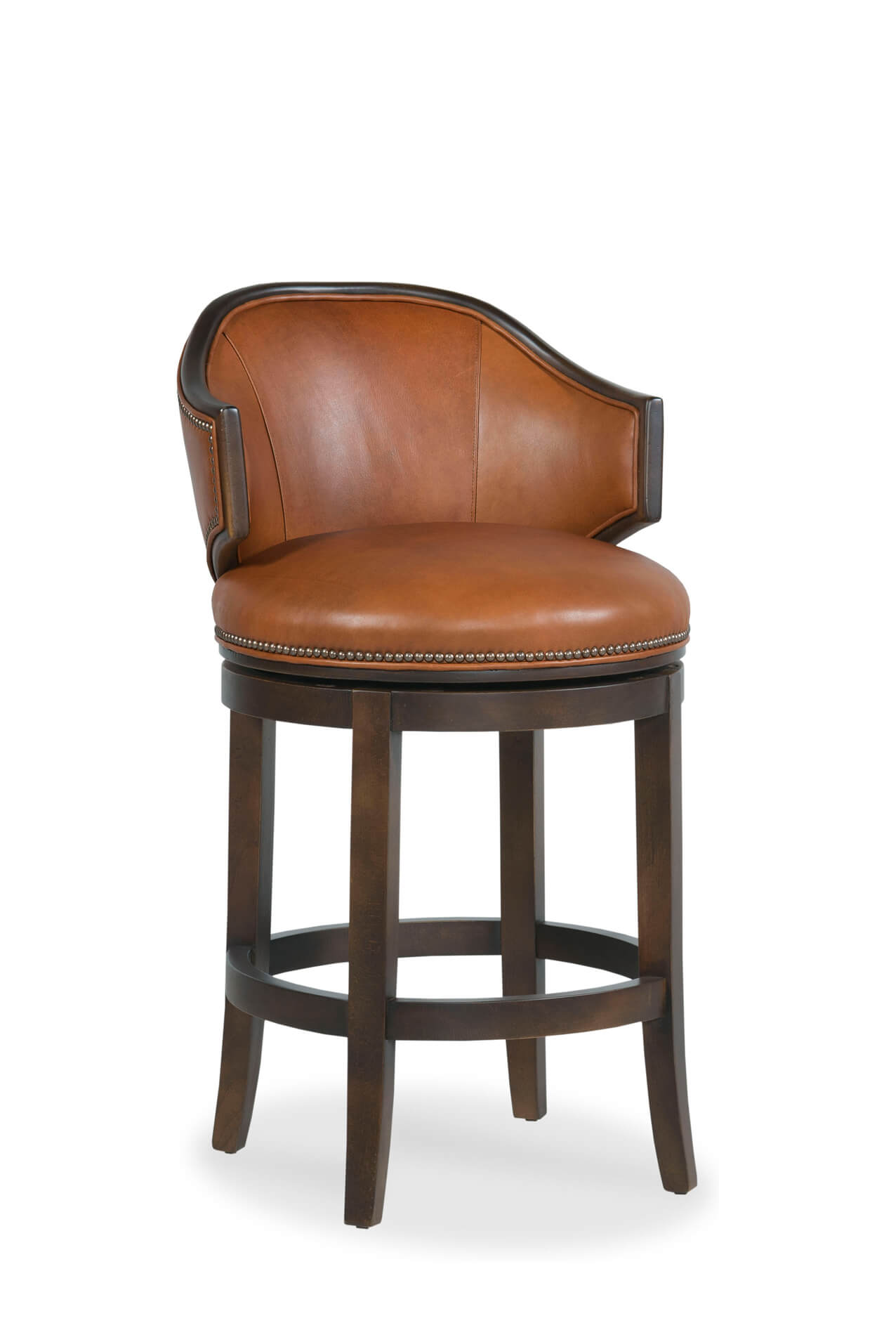 Astonishing Gimlet Wooden Upholstered Swivel Stool With Arms Uwap Interior Chair Design Uwaporg