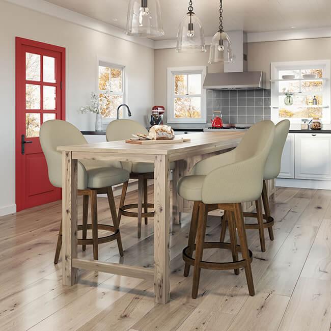 9 Charming Farmhouse Bar Stools For 2019 Barstool Comforts
