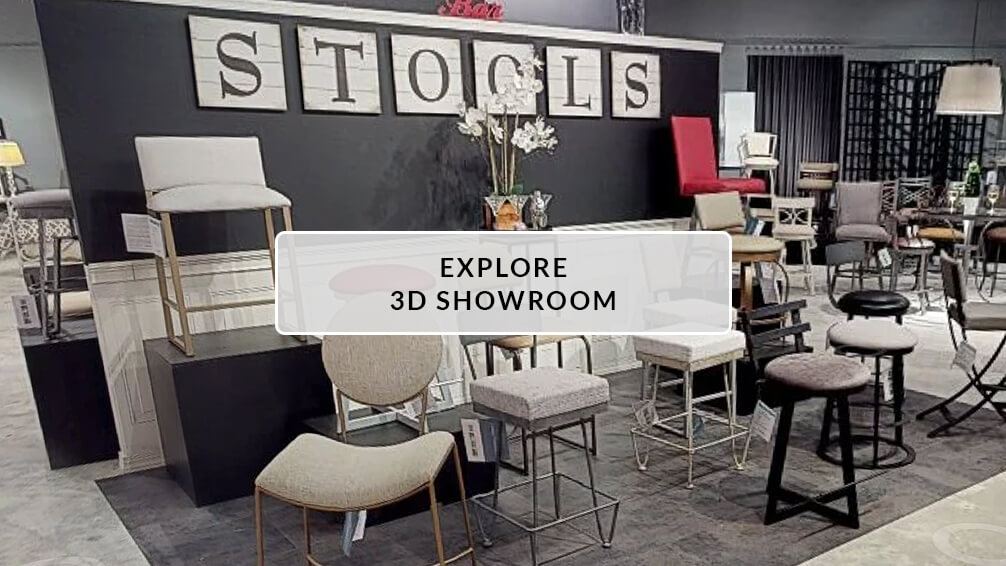 Wesley Allen's 3D Showroom of Barstools