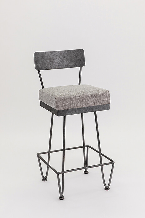 Wesley Allen S Unique Clark Bar Stool With Back Free