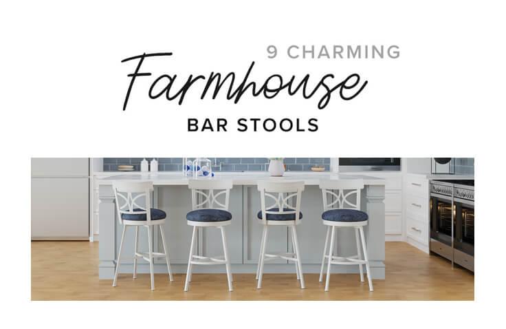 9 Charming Farmhouse Bar Stools Blog
