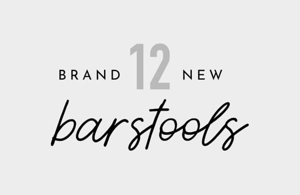 12 Brand New Barstools for Your Kitchen in 2019