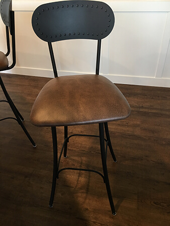 Amisco's Bean Swivel Bar Stool 30