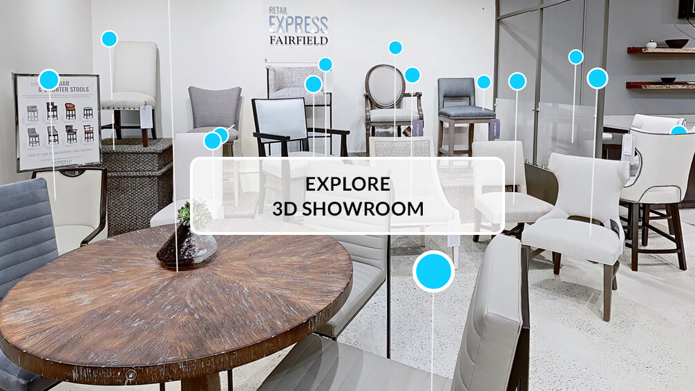 Explore Fairfield Chair's 3D Showroom