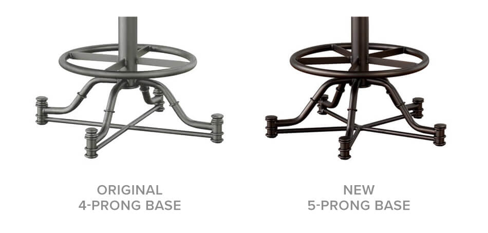 4 Vs. 5-Prong Base