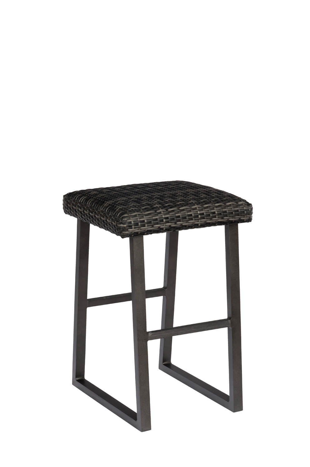 Buy Woodard S Canaveral Harper Backless Outdoor Woven Bar