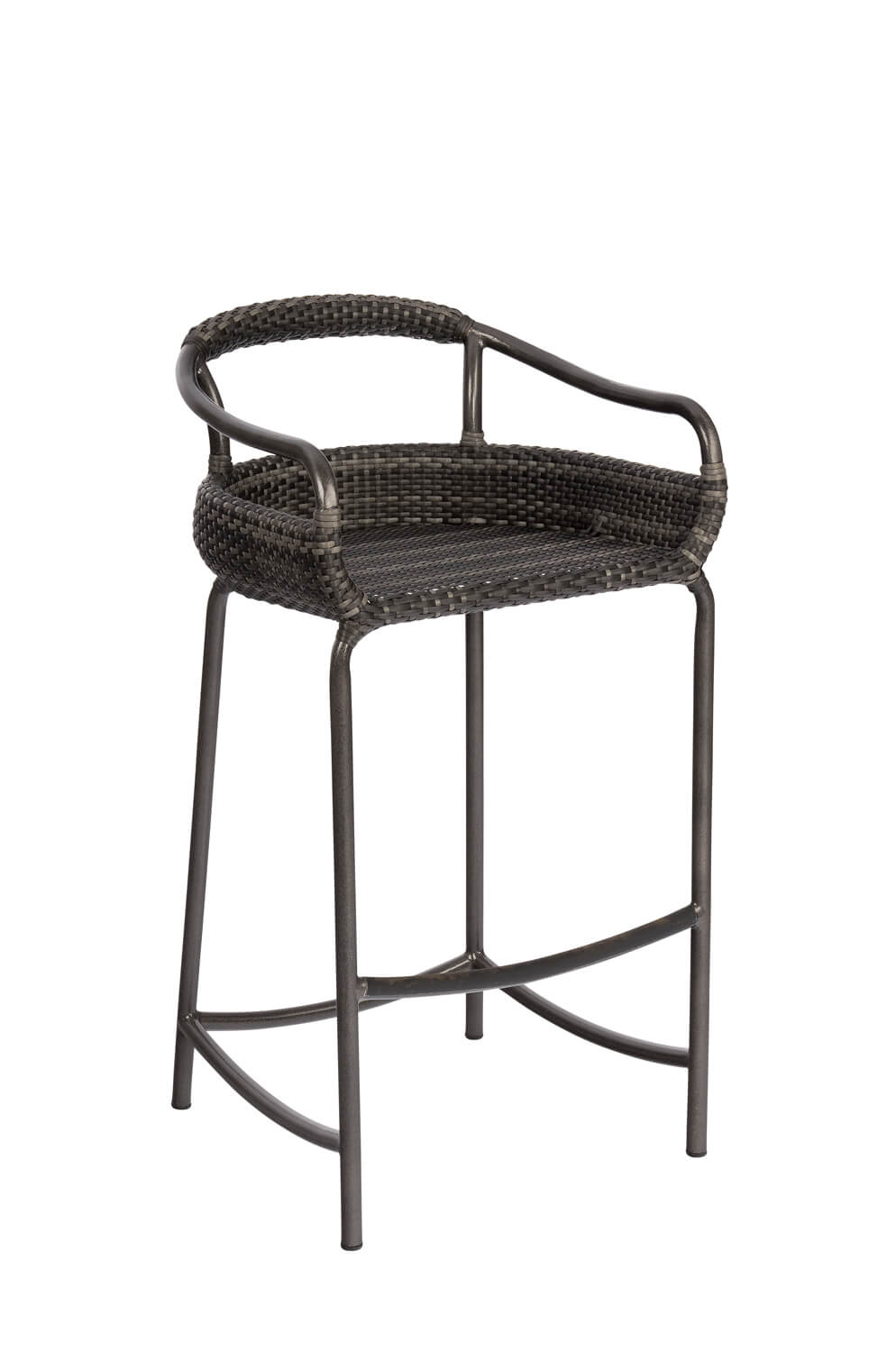 Canaveral Nelson Outdoor Woven Bar Stool