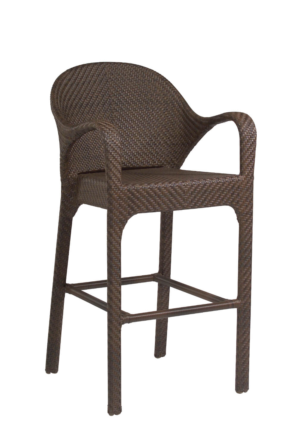 All-Weather Bali Outdoor Woven Bar Stool