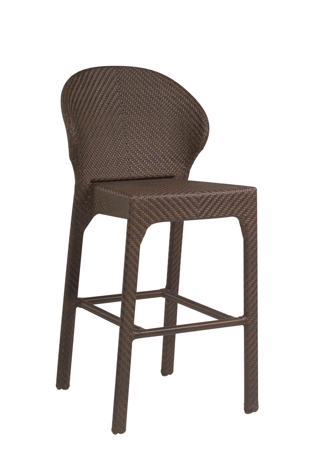 Pleasant All Weather Bali Outdoor Woven Bar Stool Ncnpc Chair Design For Home Ncnpcorg
