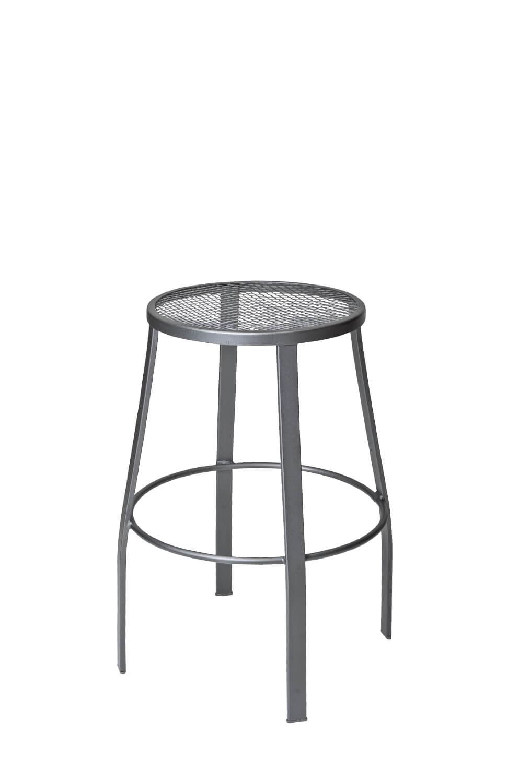 Pleasant Universal Outdoor Backless Swivel Stool With Mesh Seat Uwap Interior Chair Design Uwaporg