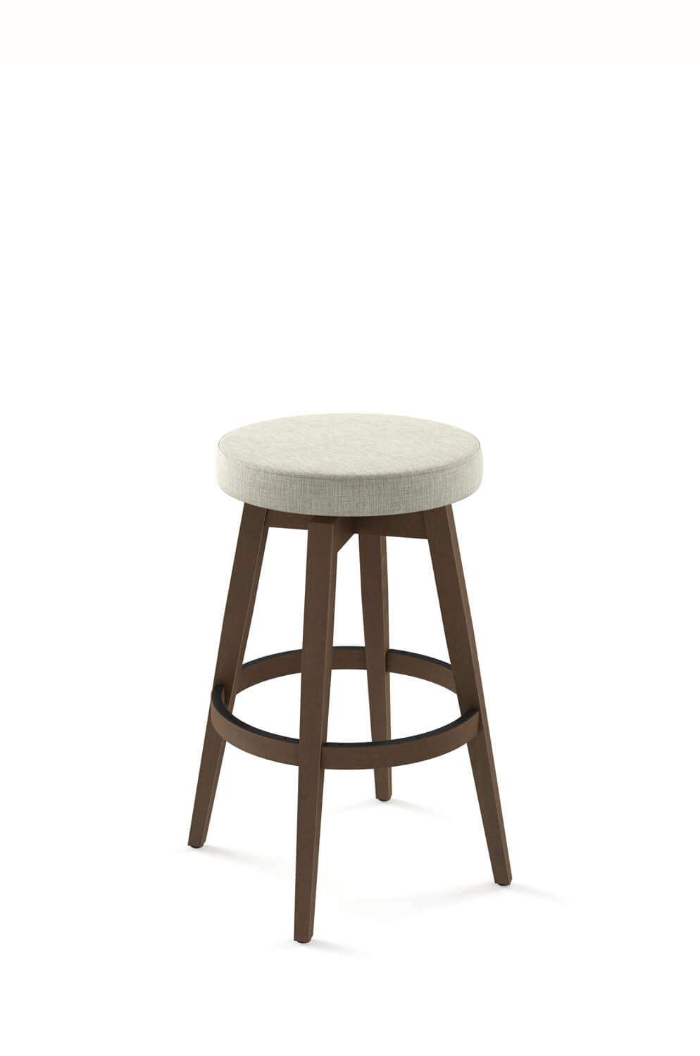 Picture of: Amisco S Anton Wooden Backless Swivel Bar Stool Barstool Comforts