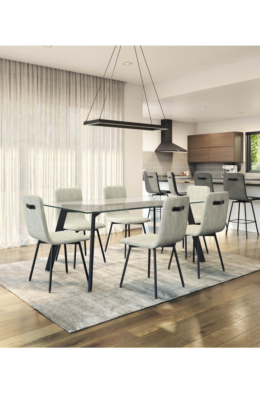 Awesome Bray Upholstered Dining Chair Download Free Architecture Designs Grimeyleaguecom