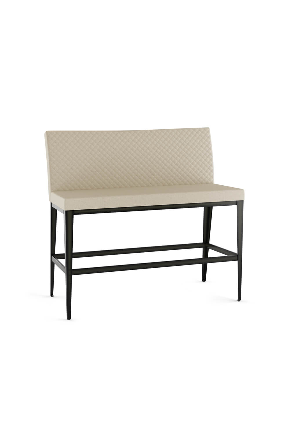 Picture of: Amisco S Pablo Quilted Upholstered Bar Stool Bench Barstool Comforts