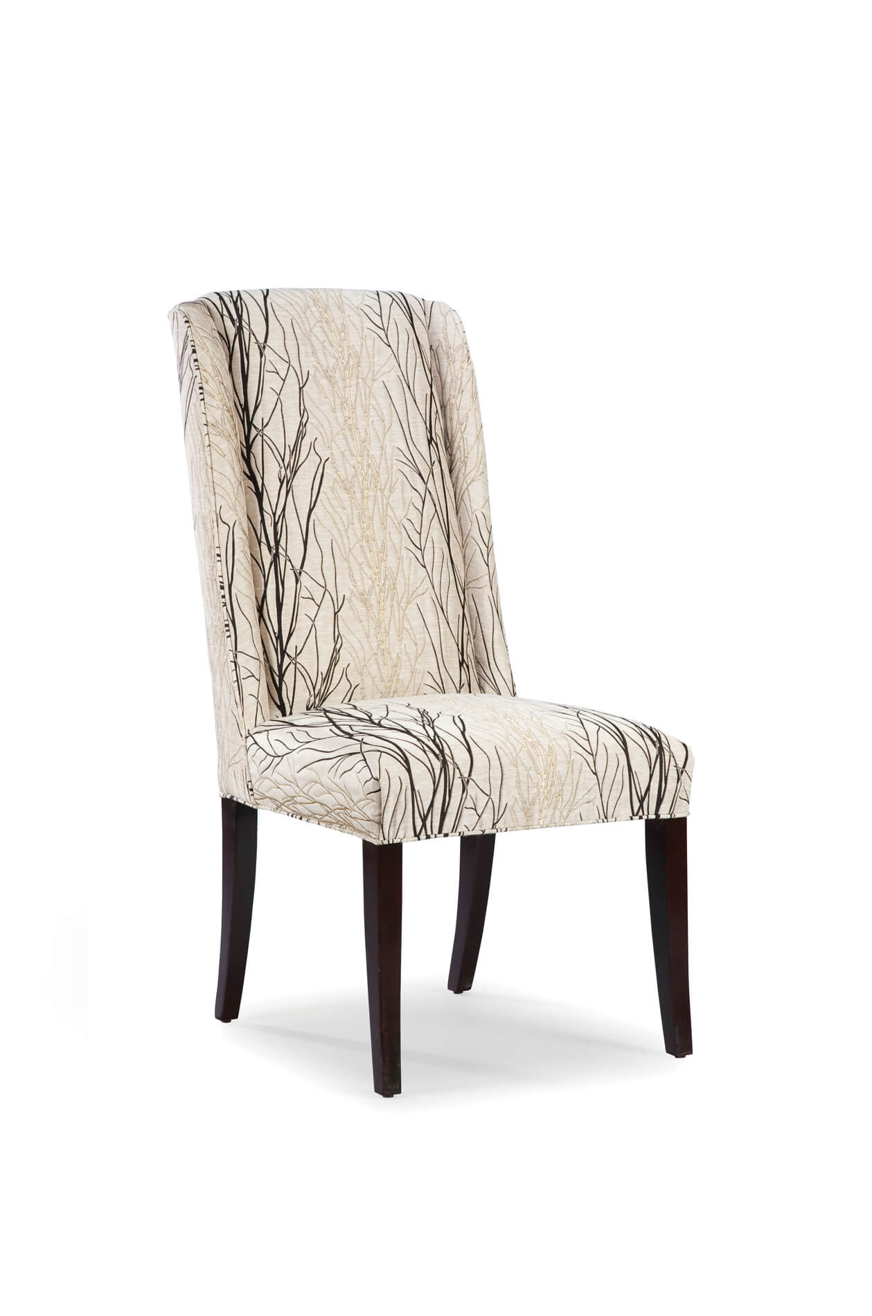 Fairfield's Dora High Back Upholstered Wooden Dining Chair