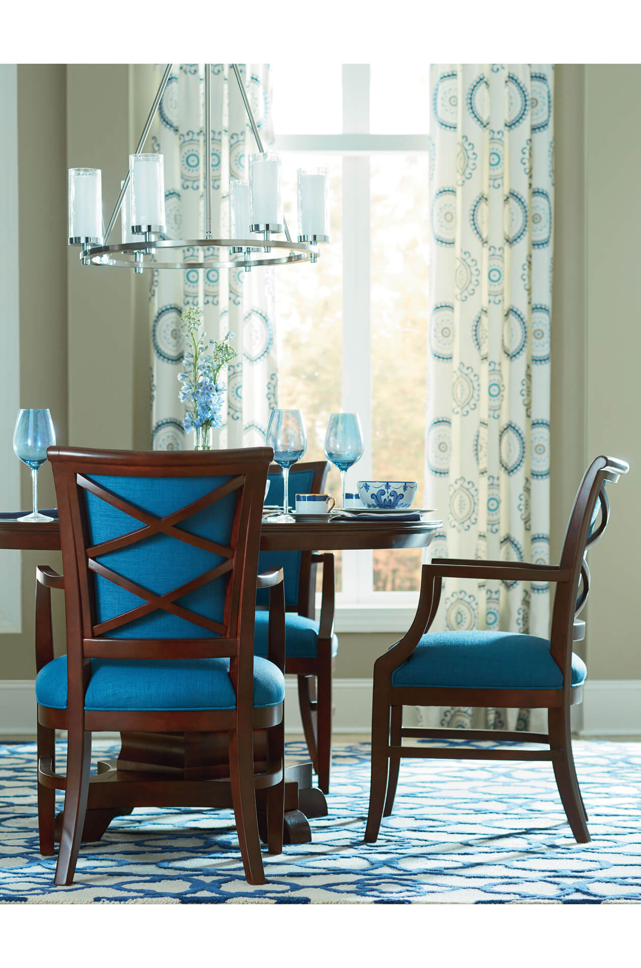 Picture of: Buy Fairfield S Mackay Upholstered Dining Arm Chair Free Shipping