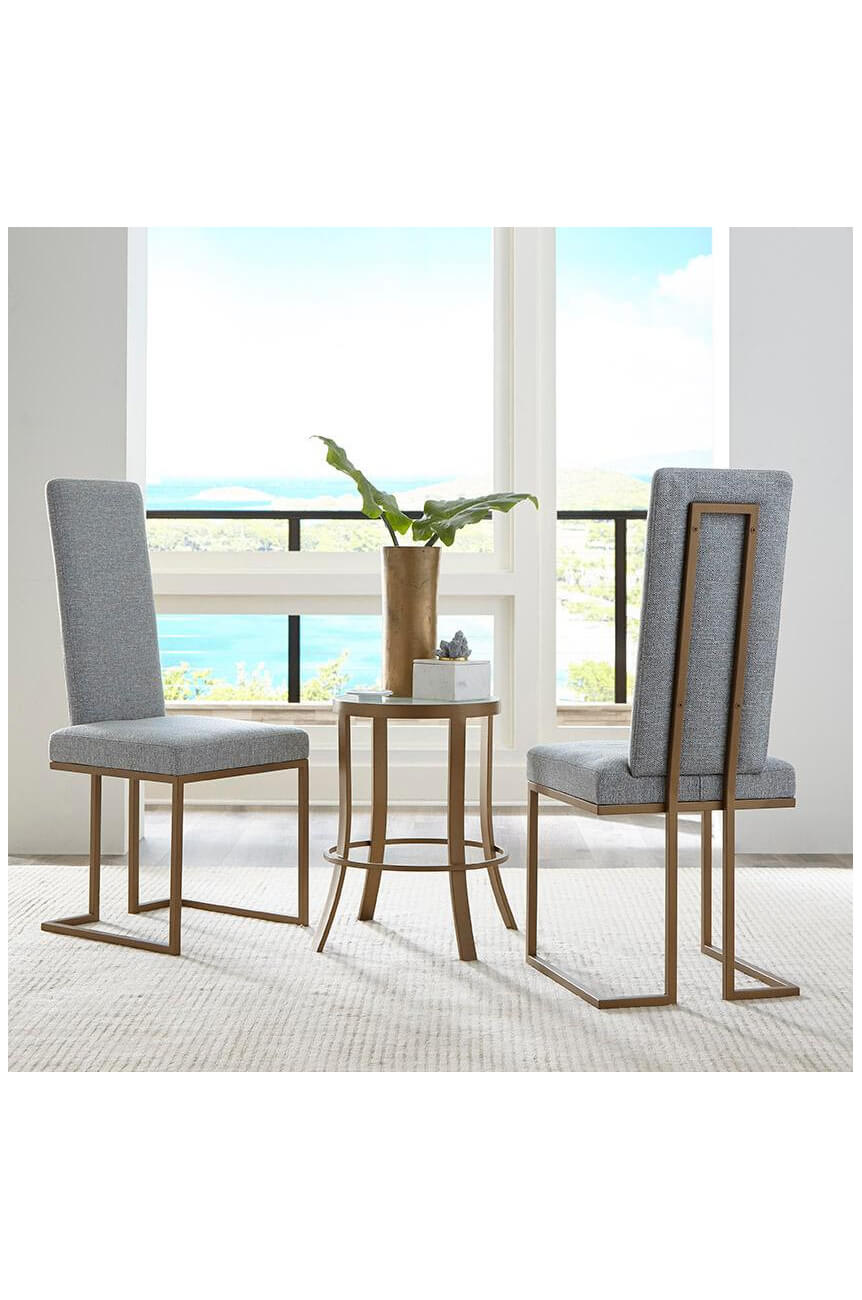 Buy Wesley S Brentwood Modern Upholstered Dining Chair W Tall Back