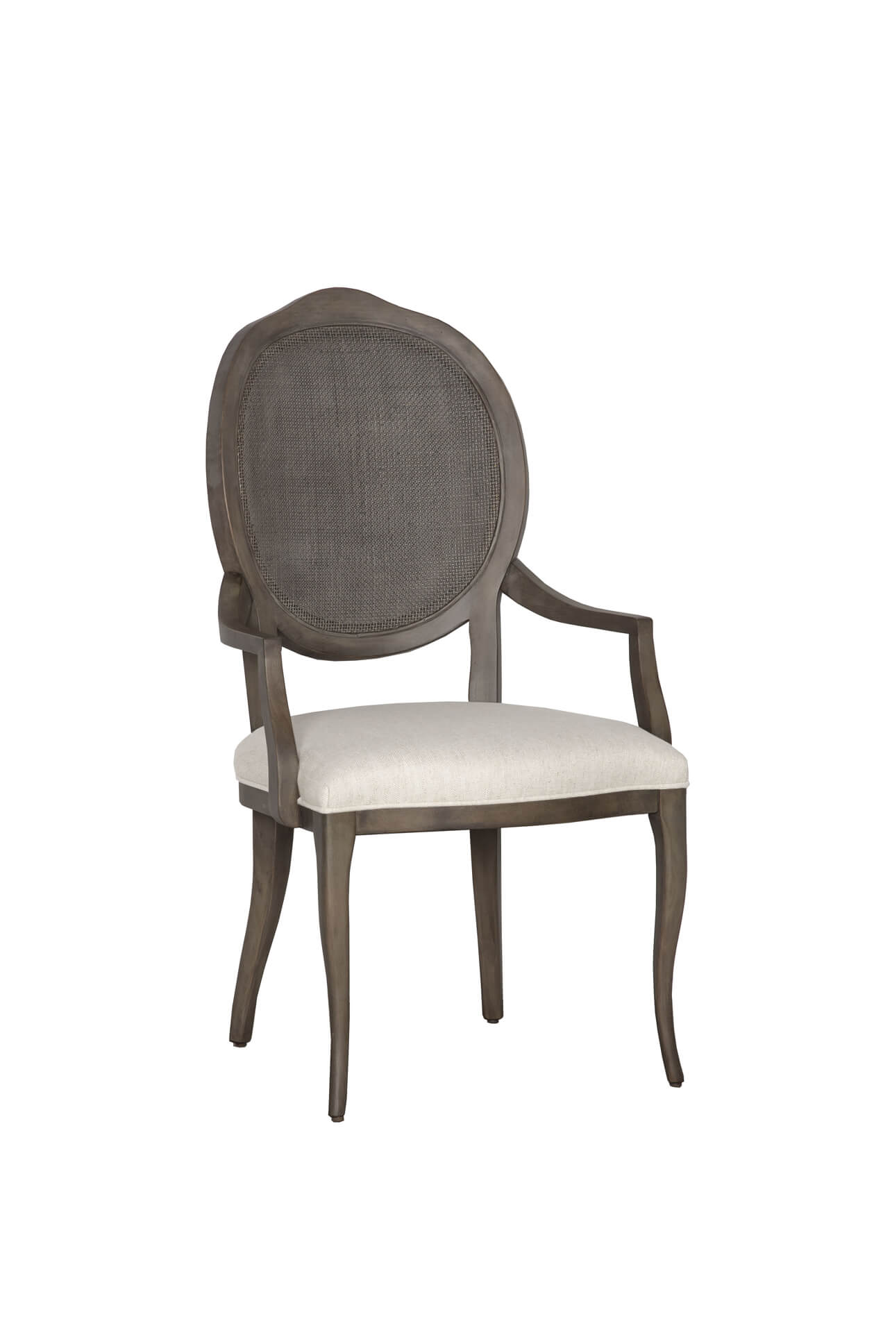 Fairfield's Ava Upholstered Dining Arm Chair