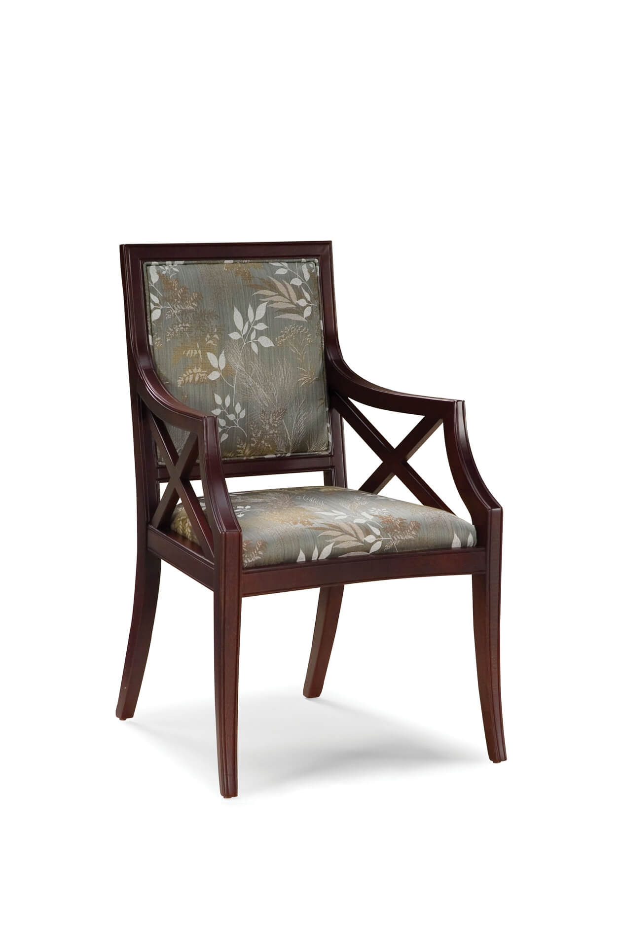 Fairfield's Brookfield Upholstered Dining Arm Chair