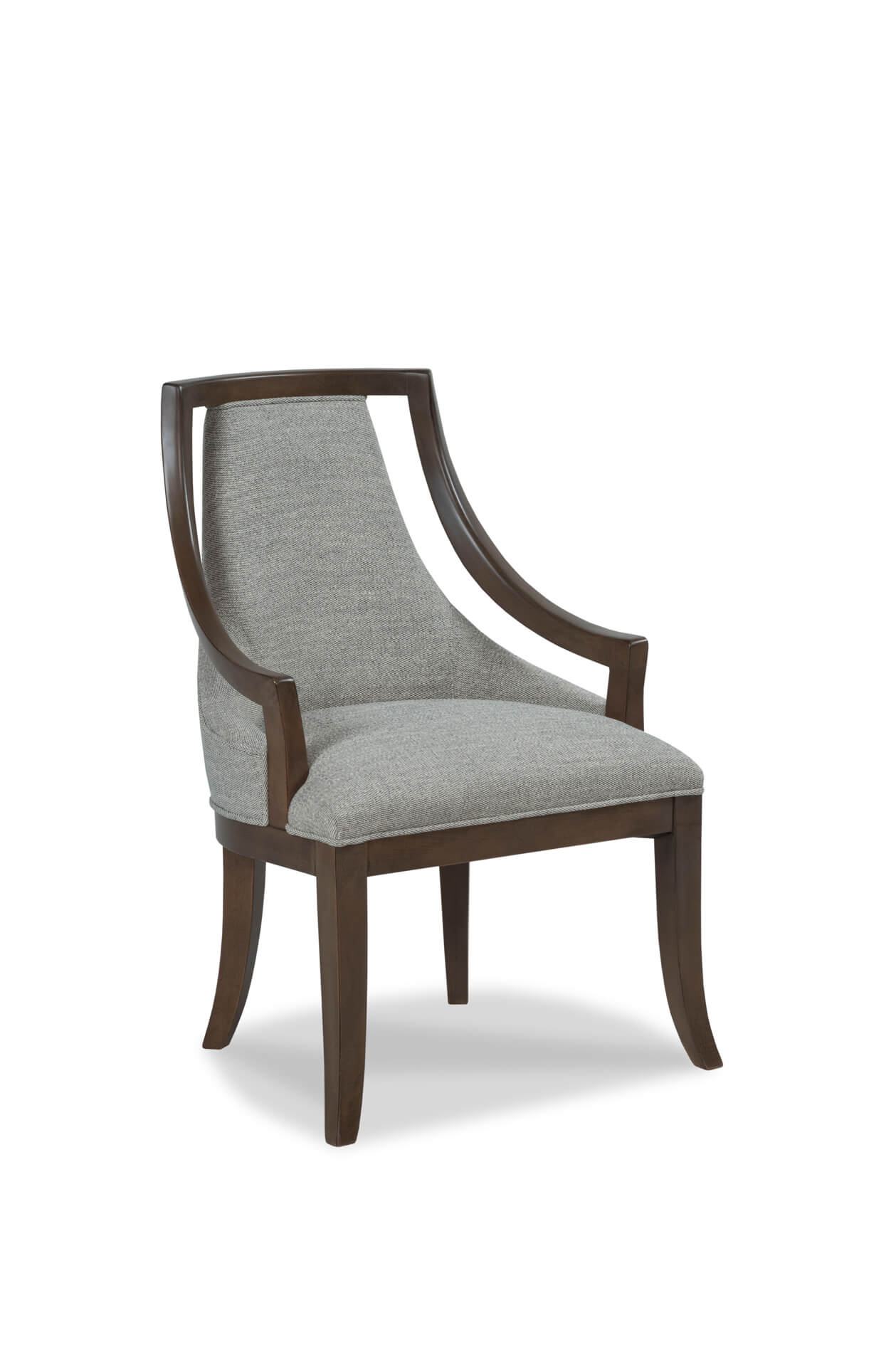 Fairfield's Caldwell Upholstered Dining Arm Chair