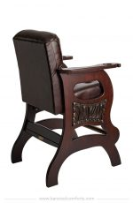Darafeev's Mann Sports Theater Luxury Bar Stool with Arms - View of Back