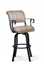 Lisa Furniture's #2035 Tilt Swivel Bar Stool with Arms