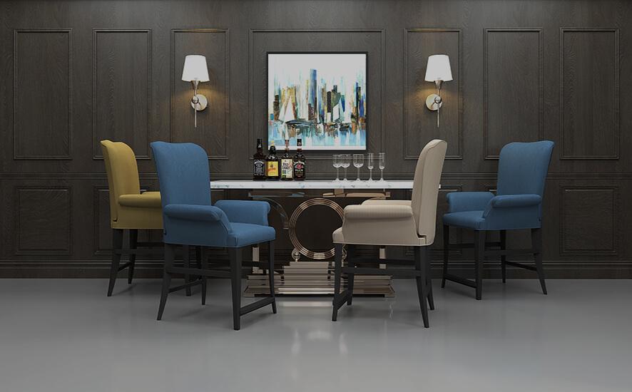 Treviso bar stools by Darafeev