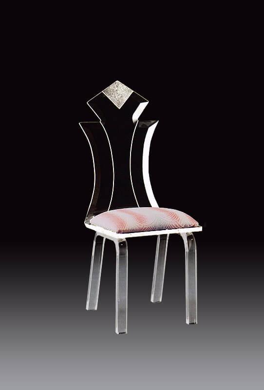 Diamond Acrylic Modern Dining Chair