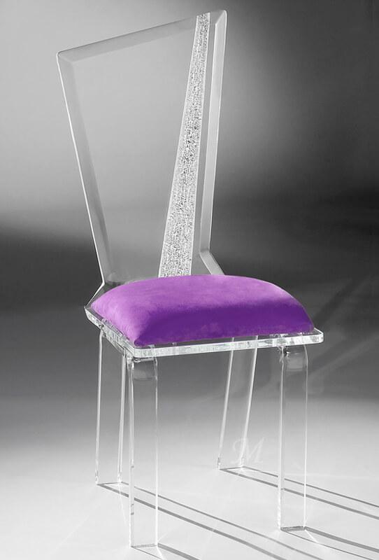 Hollywood Acrylic Modern Dining Chair