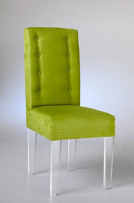 Mona Acrylic Modern Dining Chair