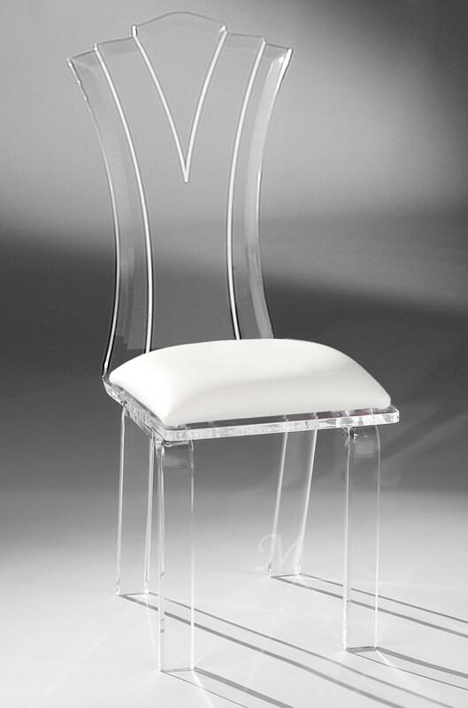 Princess Acrylic Modern Dining Chair