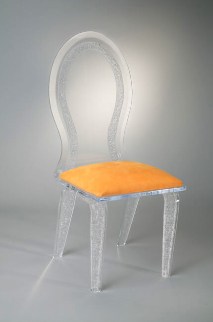 Royal Acrylic Modern Dining Chair
