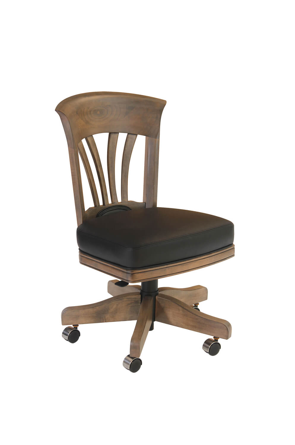 Nomad Maple Adjustable Flexback Swivel Game Chair