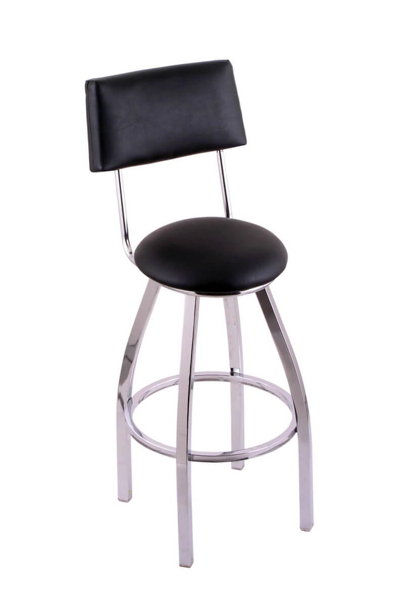C8C4 Classic Series Swivel Stool with Back