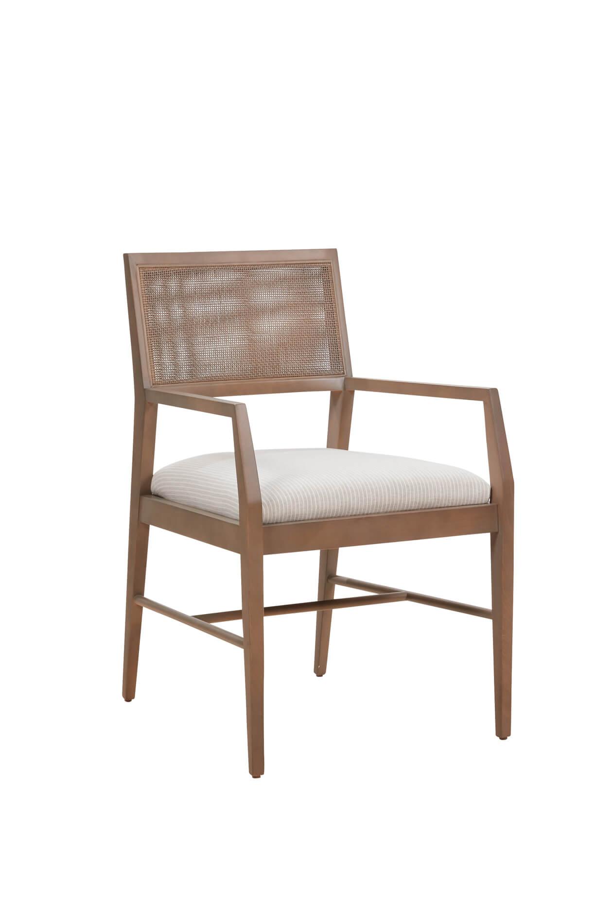 Fairfield's Larson Upholstered Dining Chair