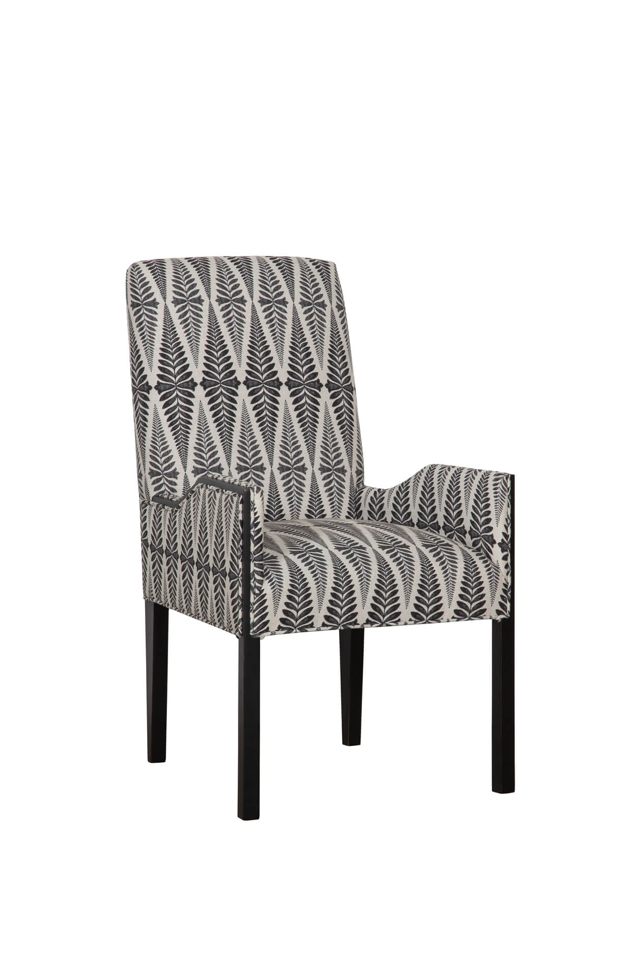 Watermill Upholstered Dining Arm Chair