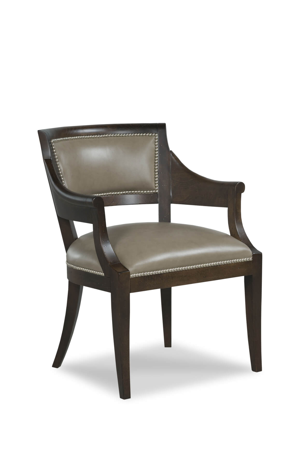 Fairfield's Gilroy Upholstered Dining Arm Chair