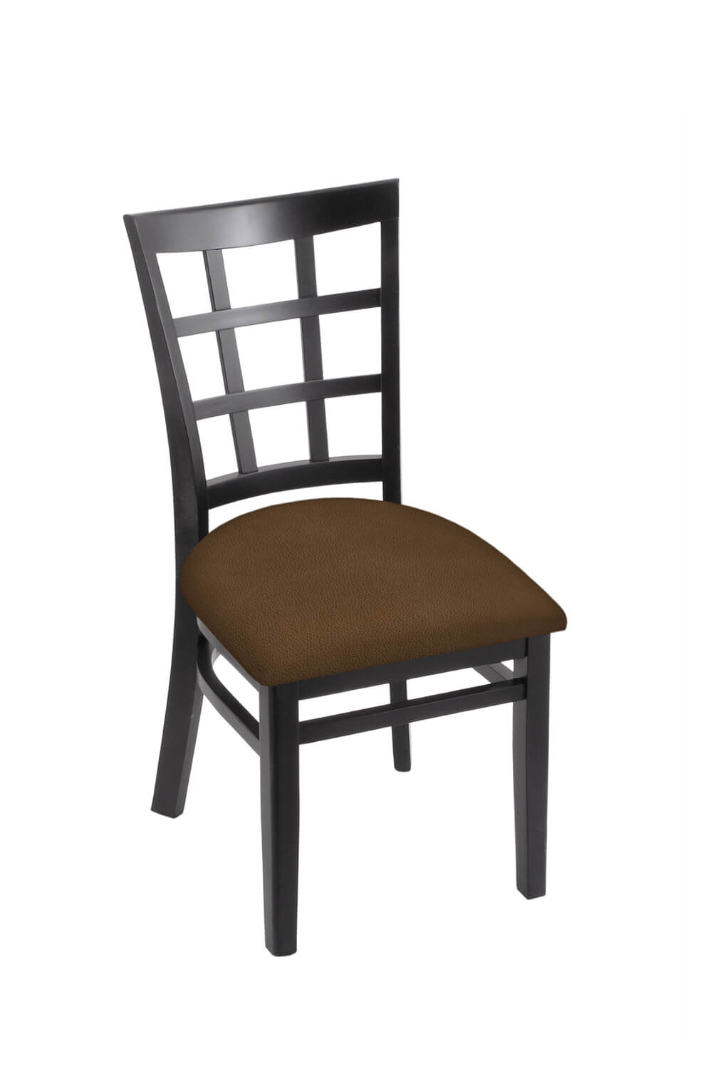 3130 Hampton Series Wood Dining Chair with Back and Seat Cushion
