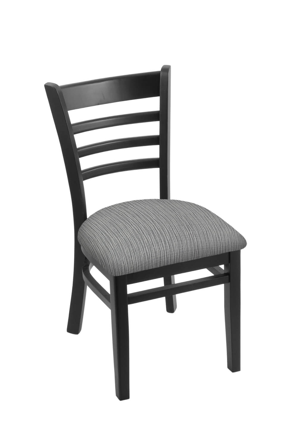 3140 Hampton Series Wood Dining Chair with Back and Seat Cushion