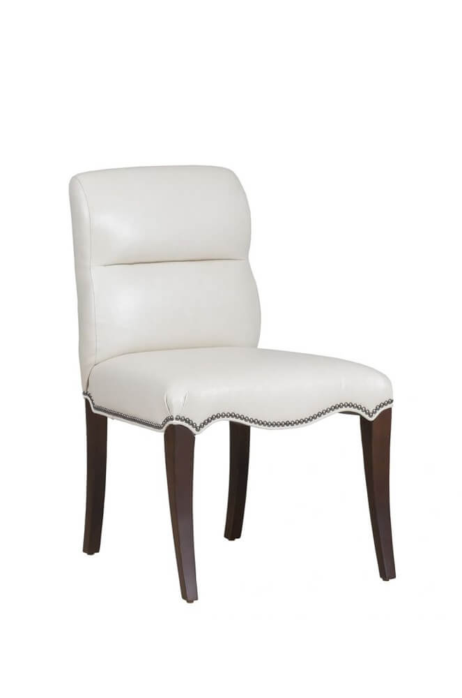 Magnolia Classic Wood Dining Chair with Nailhead Trim