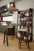 Amisco Architect Swivel Counter Stool in Industrial Kitchen