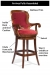 Features of the Melrose Swivel Barstool by Fairfield Chair Company