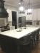 Fairfield's Lander Wooden Luxury Bar Stool in Modern Black and White Kitchen