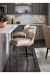 Fairfield's Lander Wooden Bar Stool in Contemporary Kitchen